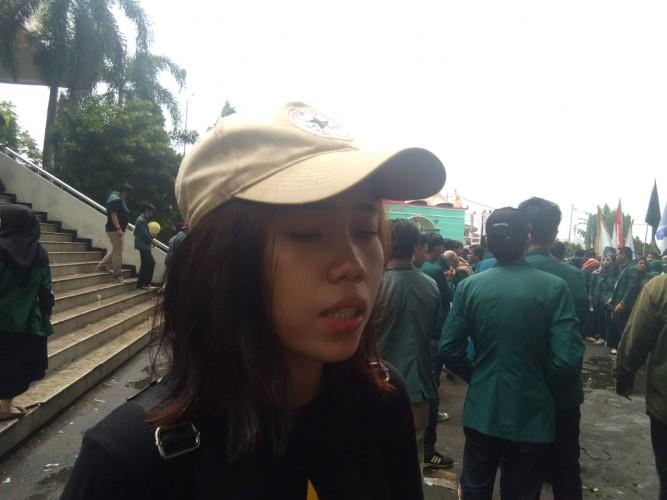 Mahasiswa Kawal Terus DPRD Hingga ke Senayan