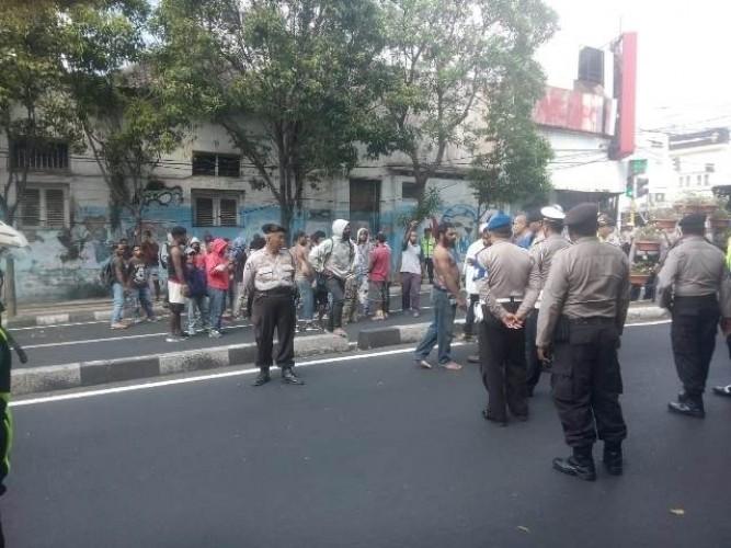 Mahasiswa Papua Terlibat Bentrok saat Demo di Malang