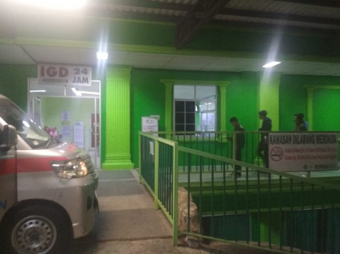 Mahasiswa Polinela Ditikam di Islamic Center