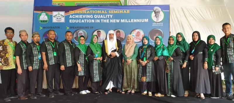 Mahasiswa S3 MPI UIN RIL Jadi Presenter Seminar Internasional
