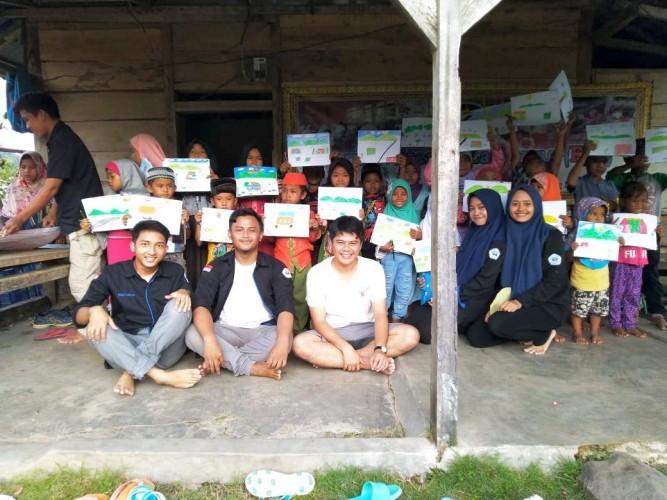 Mahasiswa Sosiologi Laksanakan Program Sekolah Rakyat di Punduh Pidada