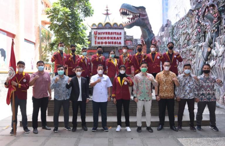 Mahasiswa Teknokrat Bawa Nama Bangsa di Karate Asia dan Sea Games