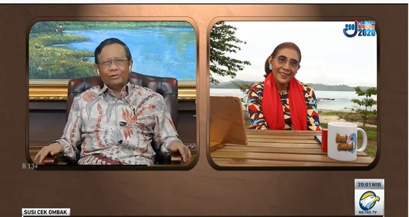 Mahfud: Metro TV Sumber Referensi