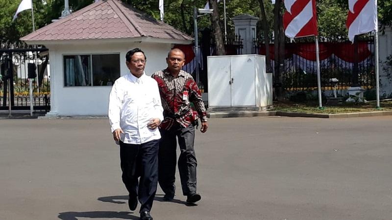 Mahfud Siap Mengemban Perintah Jokowi