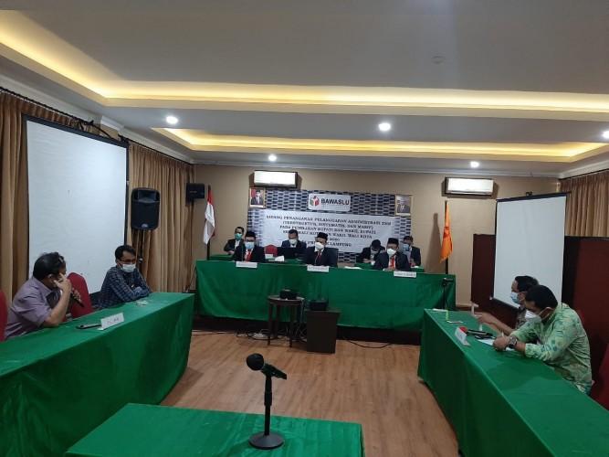 Majelis Hakim Menerima Penyampaian Kesimpulan Pelapor dan Terlapor