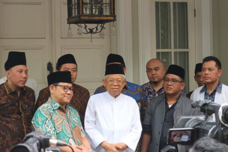 Maju Jadi Ketua MPR, Cak Imin Minta Dukungan Ma'ruf Amin