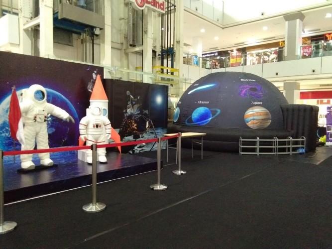 Mal Boemi Kedaton Hadirkan Wahana Edukasi Planetarium