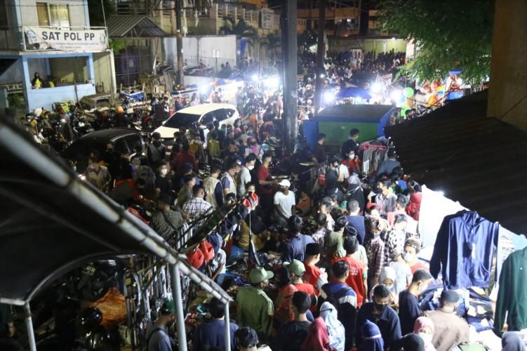 Mal di Bandar Lampung Masih Diserbu Warga