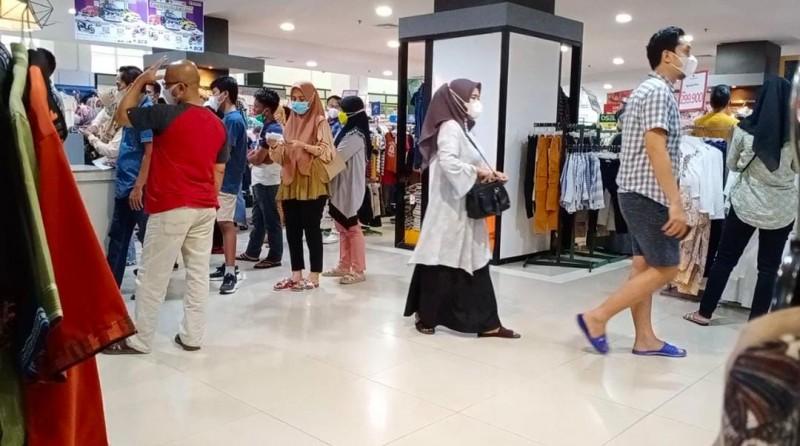 Mal di Bandar Lampung Mulai Dipadati Pengunjung
