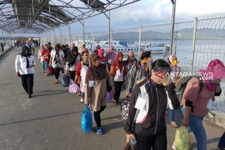 Malaysia Usir 117 WNIPekerja Ilegal di Sabah