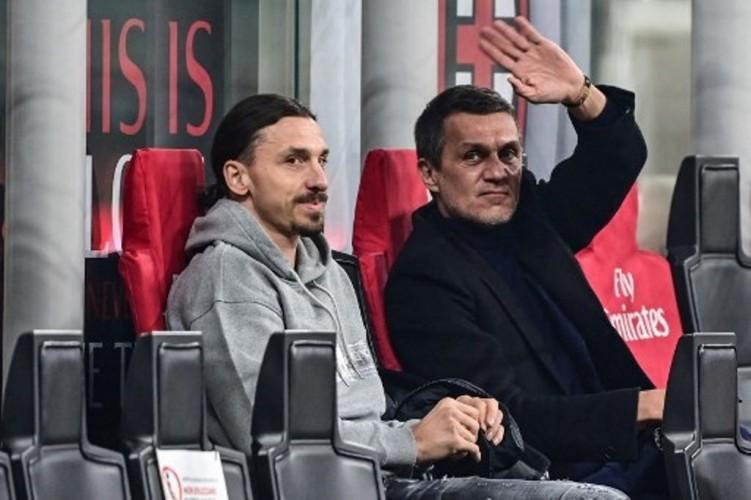 Maldini tak Sabar Duetkan Giroud-Ibrahimovic di AC Milan