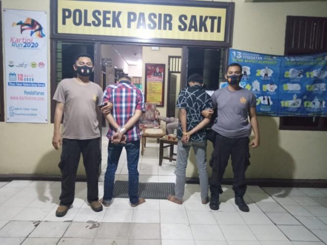 Maling di Sukarame, Dua Warga Jabung Ini Ditangkap Saat Bawa Kabur Motor Curian