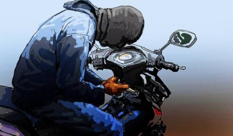 Maling Motor di Ponpes Riyadlatul Ulum Lamtim Ditangkap
