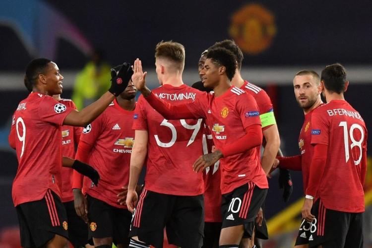 Manchester United Borong Lima Gol ke Gawang RB Leipzig