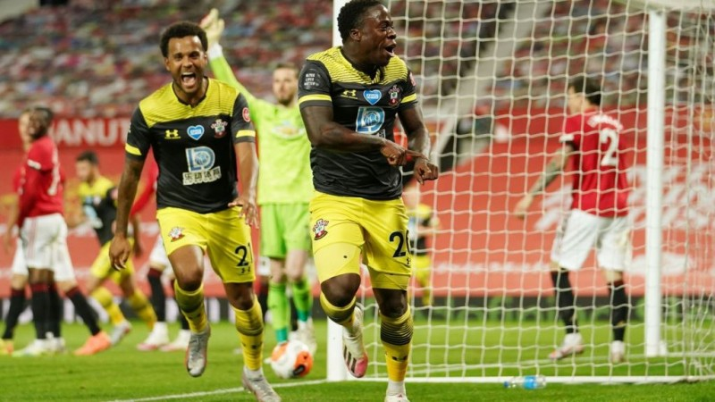 Manchester United Ditahan Imbang Southampton 2-2