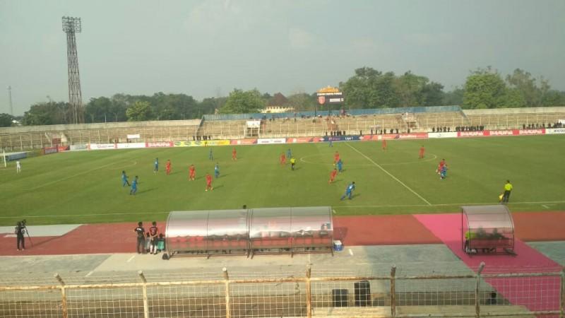 Manfaatkan Tendangan Bebas,Timnas U-23 Unggul 2-0 Lawan Lampung FC