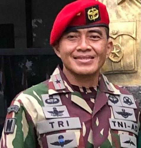 Mantan Dandim Bandar Lampung Jabat Danpaspampres