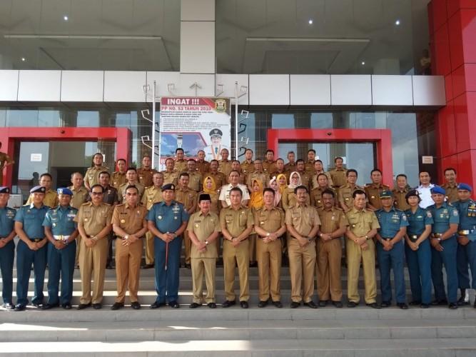 Mantap! Pemkot Bantu Lanal Lampung Bangun Kantor di Panjang