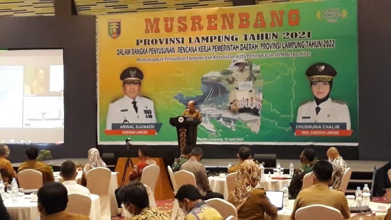 Mantapkan Pemulihan Ekonomi Lampung Lewat Musrenbang