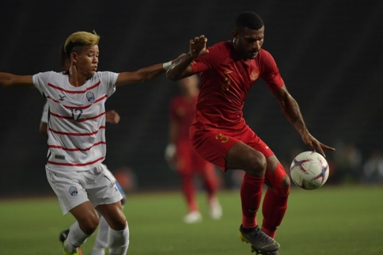 Marinus Bawa Indonesia Ungguli Kamboja, 2-0
