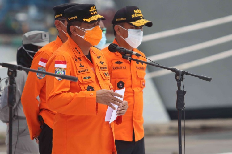 Masa Pencarian Sriwijaya Air SJ182 Diperpanjang