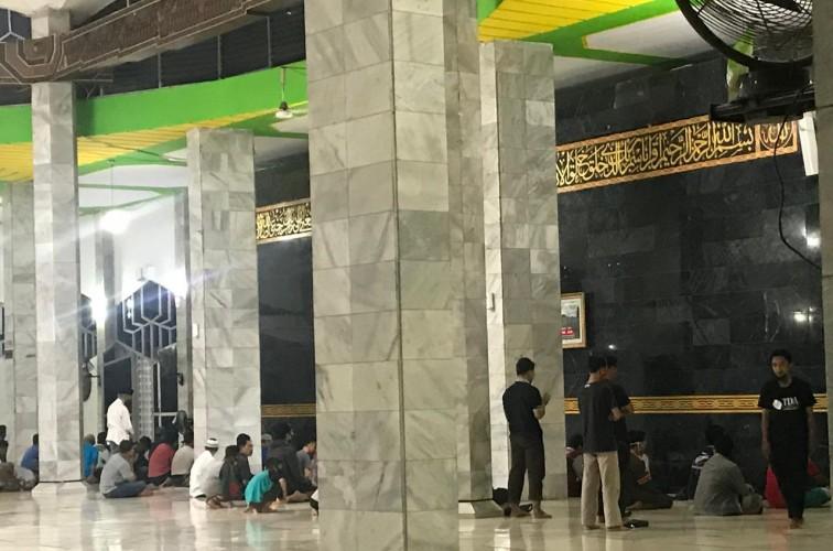 Masjid Al Wasii Terapkan Protokol Kesehatan