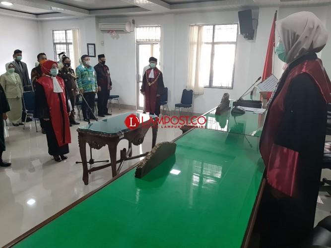 Masriati Dilantik Sebagai Ketua PN Blambangan Umpu
