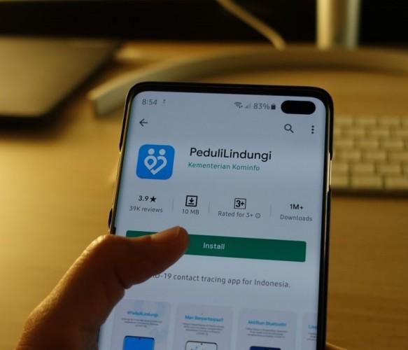 Masuk Mal di Bandar Lampung Wajib Tunjukkan Aplikasi <i>PeduliLindungi</i>