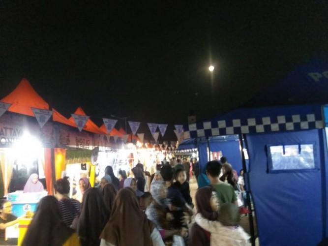 Masyarakat Antusias Datangi Festival Food Satlantas