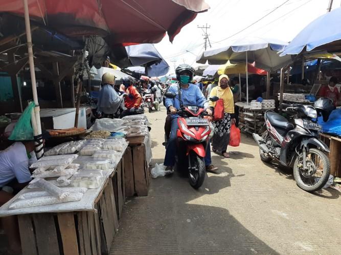 Masyarakat Bandar Lampung Ikuti Instruksi Pakai Masker