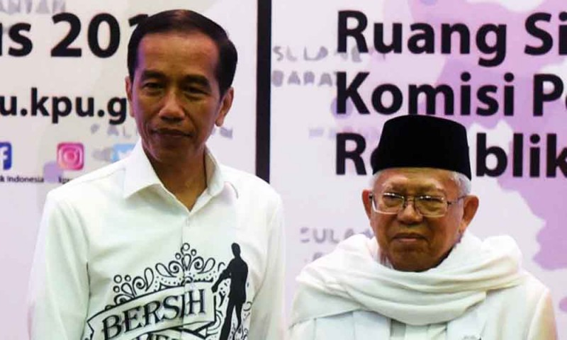 Masyarakat Dayak Dukung Joko Widodo dan Ma'ruf Amin