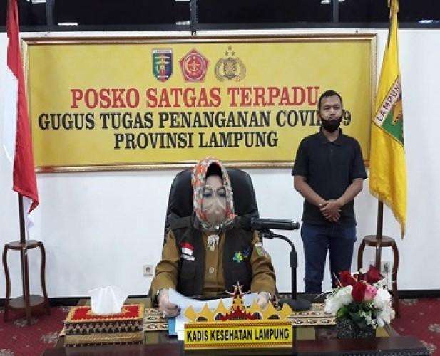 Masyarakat di Zona Merah dan Oranye Lampung Tetap Dilarang Berkerumun