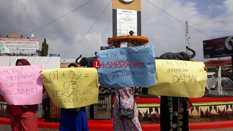 Masyarakat Lampung Minta Elit Politik Tetap Jaga Persatuan Pasca-Pemilu