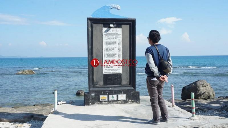 Masyarakat Pesisir Lamsel Trauma Tragedi Tsunami 2018