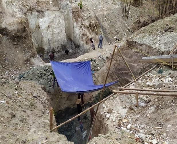 Masyarakat SidomulyoRagukan Pembangunan Jembatan Selesai Tepat Waktu