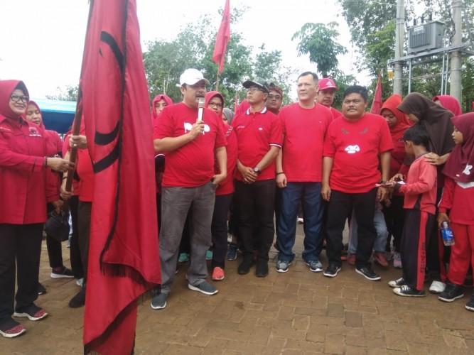 Mau Pilkada Pesawaran, Nasir Minta Kader PDIP Rapatkan Barisan
