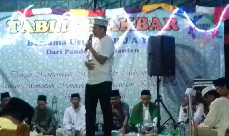 Maulid Nabi dan Tablig Akbar di Desa Gebang Berlangsung Meriah