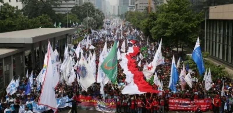 May Day, 50 Ribu Buruh Berencana Turun ke Jalan