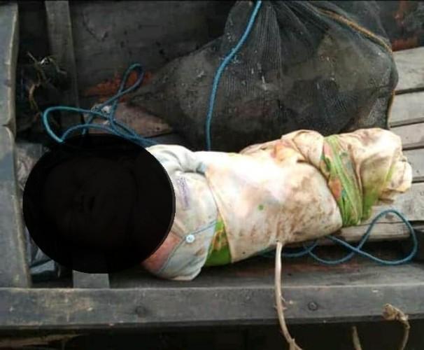 Mayat Bayi Mengapung di Sungai Gegerkan Warga Menggala