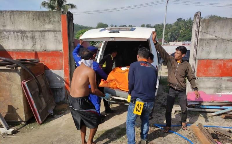 Mayat Mengapung di Laut Mutun Warga Bandar Lampung