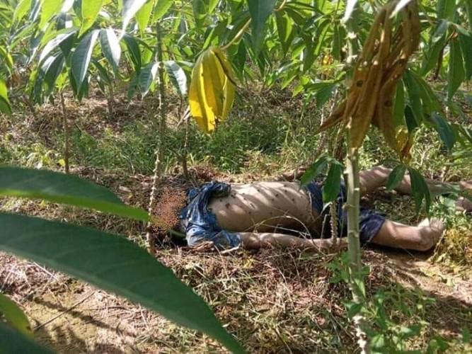 Mayat Pria Membusuk Ditemukan di Kebun Singkong Sindangsari