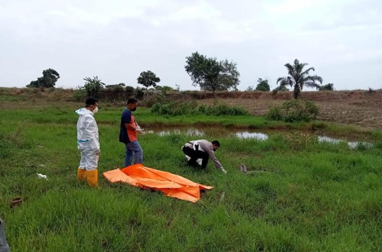 Mayat Tanpa Busana Ditemukan Pencari Rumput di Jatiagung