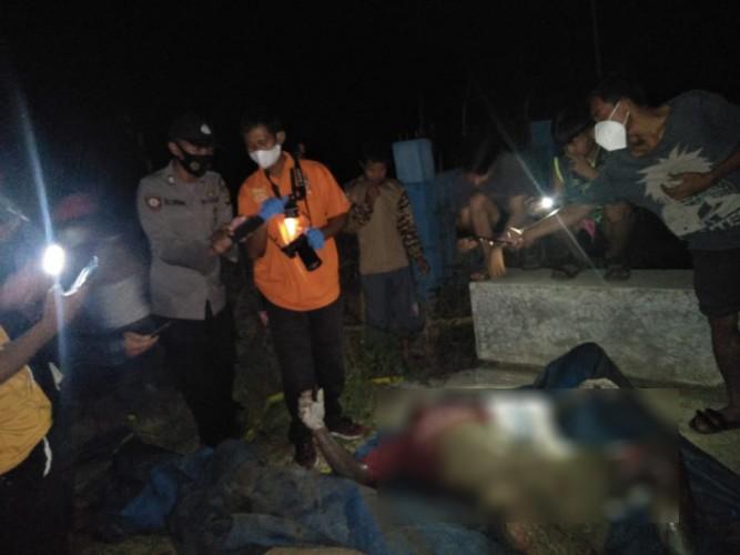 Mayat Tanpa Identitas Ditemukan Mengambang di Sungai Tulung Balak