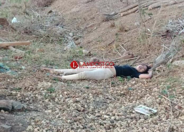 Mayat Wanita di Stadion Jati Kalianda Gegerkan Warga