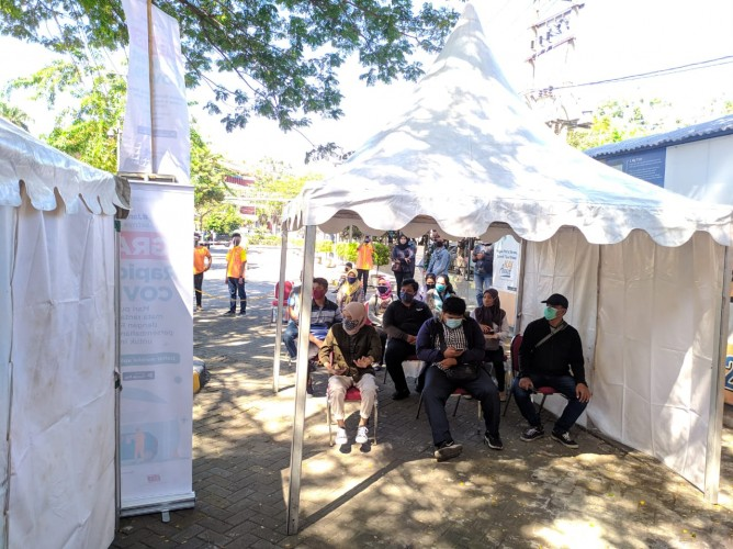 Medcom.id Gandeng Homecare 24 Gelar Rapid Test Massal di Surabaya