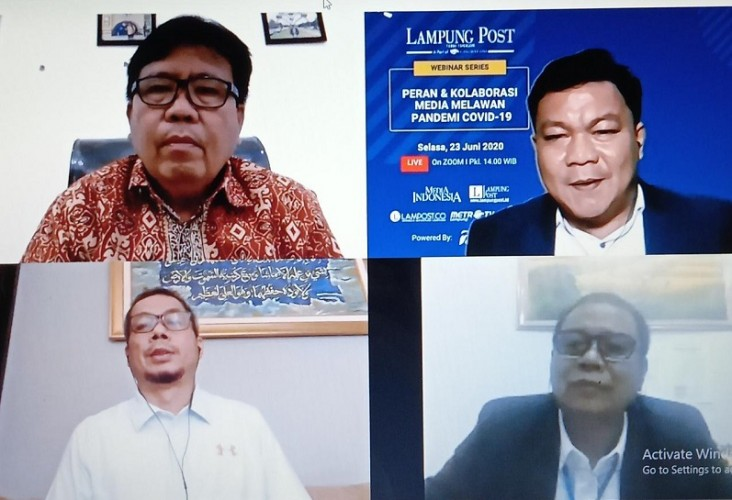Media Berperan Strategis di Tengah Pandemi