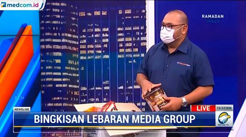 Media Group Bagikan 3.750 Bingkisan untuk Karyawan