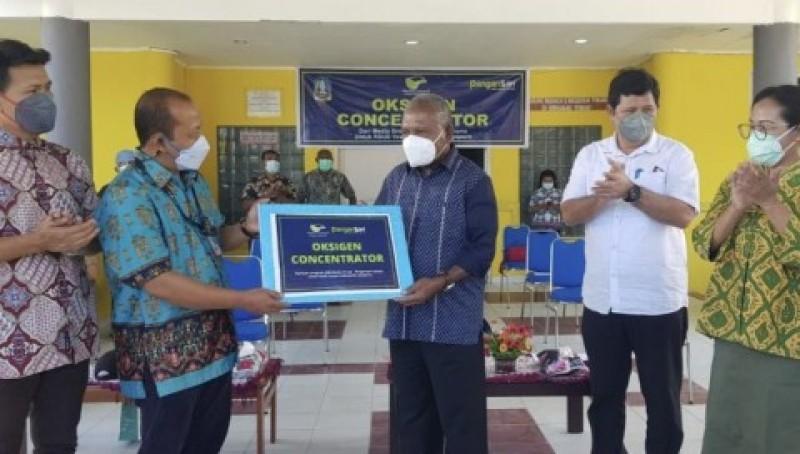Media Group dan Pangansari Sumbang Oksigen Konsentrator ke RSUD di Papua