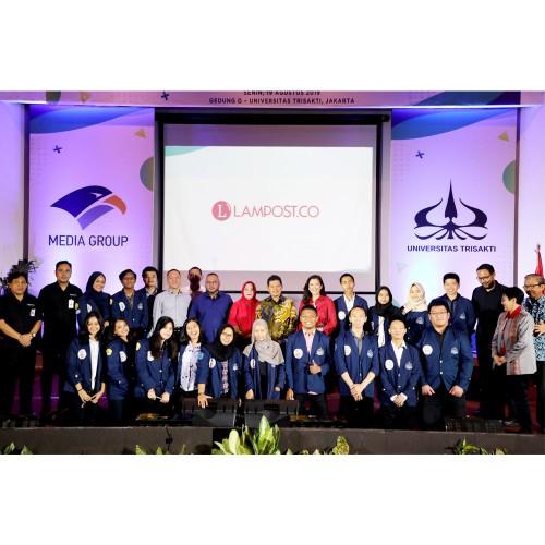 Media Group dan Universitas Trisakti Teken MoU
