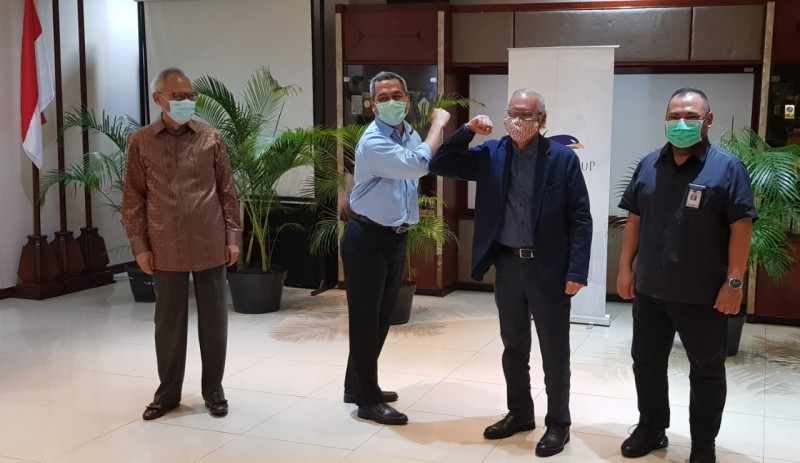 Media Group Gelar Sertijab Ketua Dewan Redaksi